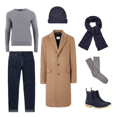 Styling Cashmere in Winter for Men
