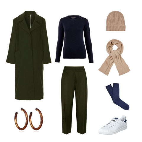 Styling Cashmere in Winter for Women