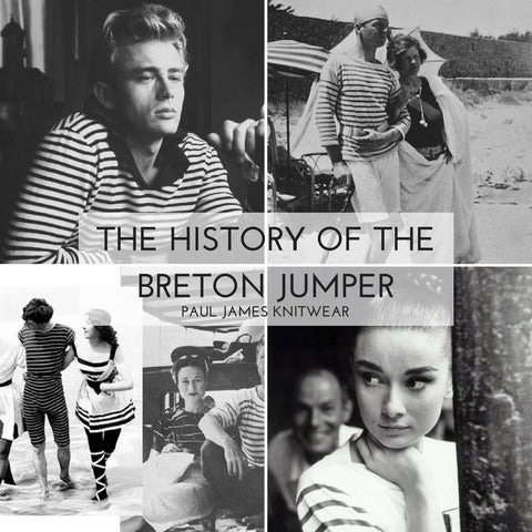 The history of the breton sweater