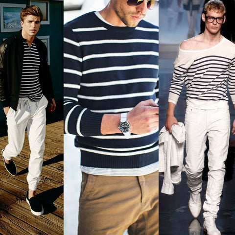 how to style the breton stripe sweater