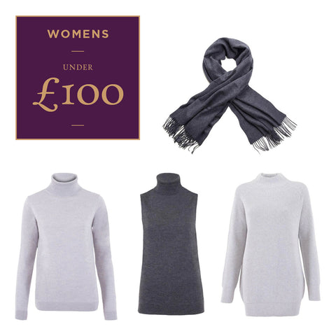 Women's Luxury Natural Fibre Knitwear under £100