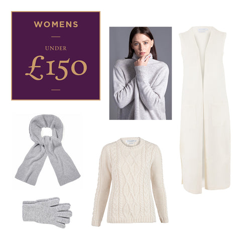 Women's Natural Fibre Luxury Knitwear under £150