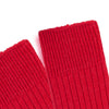 red warm and comfortable walking boot sock