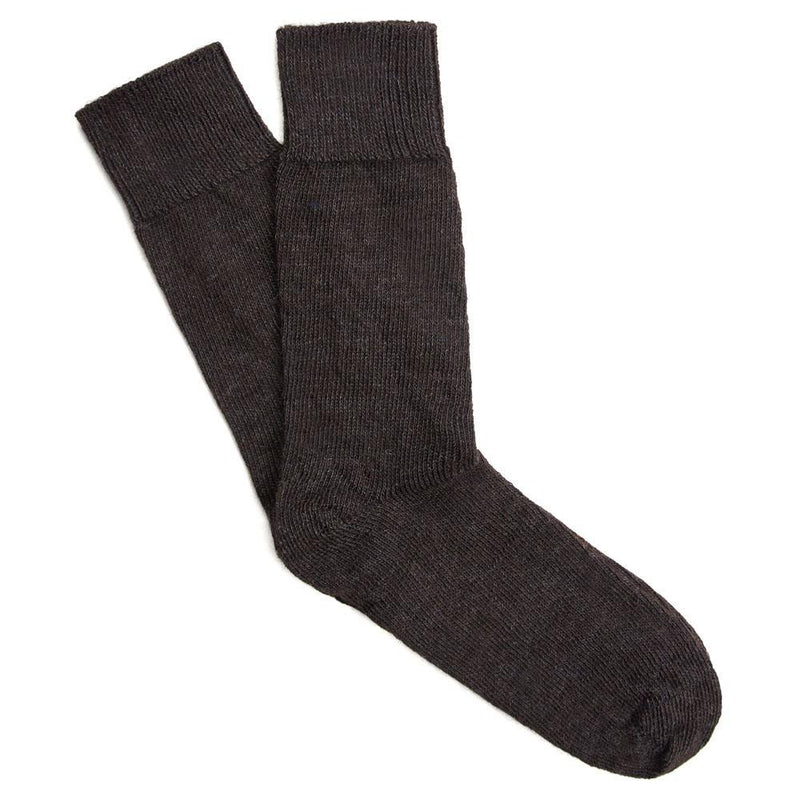 charcoal alpaca socks