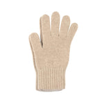 camel cashmere gloves