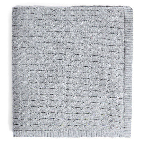 grey bed runner cotton