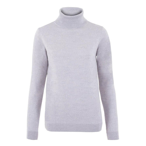 Womens 100% Cotton Cable V Neck Jumper