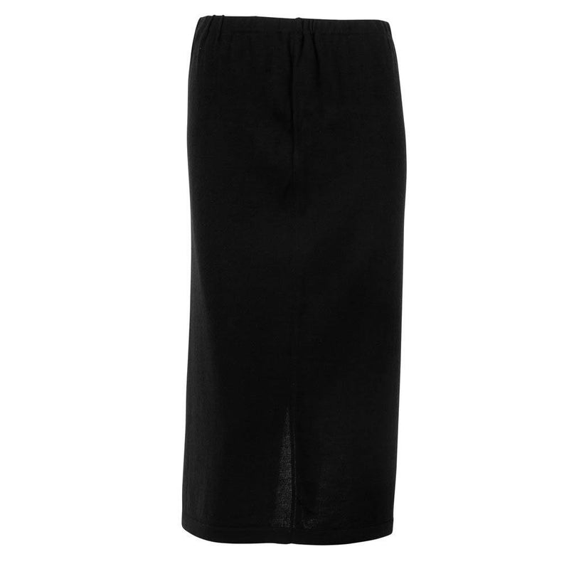 Womens Pure Extra Fine Merino Wool Long Skirt