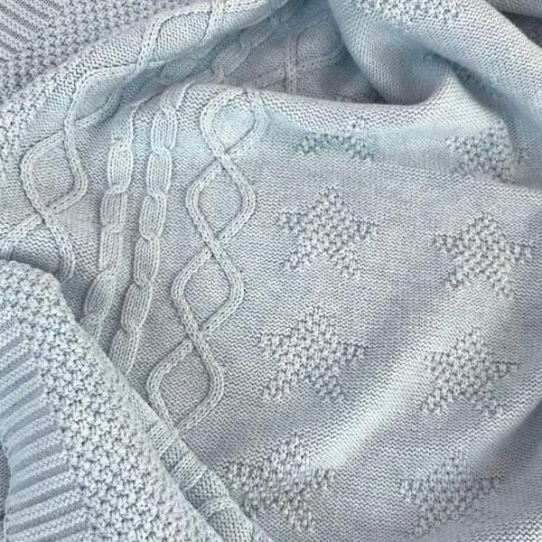 Star Cotton Baby Blanket