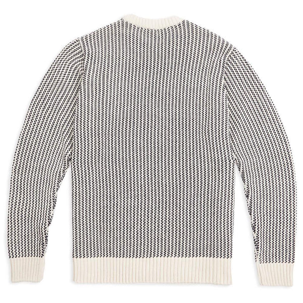 cotton fisherman sweater back