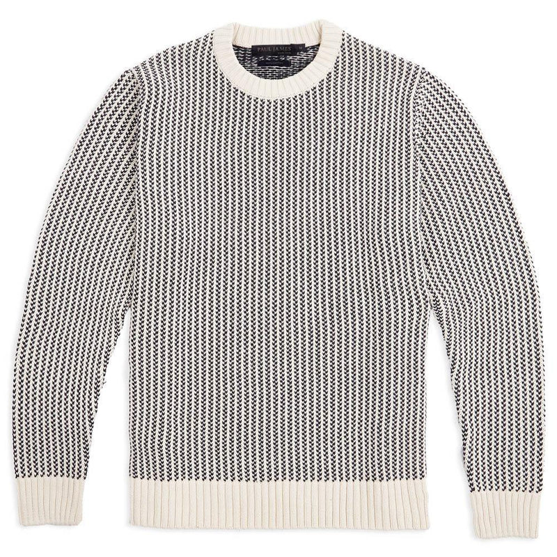 cotton fisherman sweater front