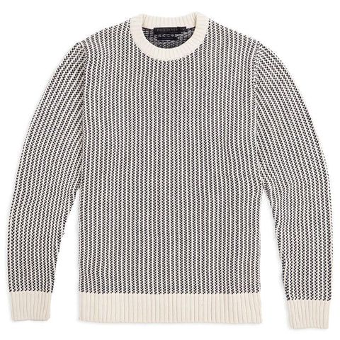 Mens Cotton Cable Sweater