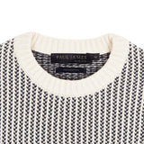 cotton fisherman sweater neck