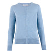 Womens 100% Cotton Fine Button Through Cardigan