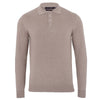 mens light beige polo shirt jumper