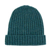 hunter green warm winter wool beanie hat