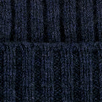 oxford blue warm winter wool beanie hat