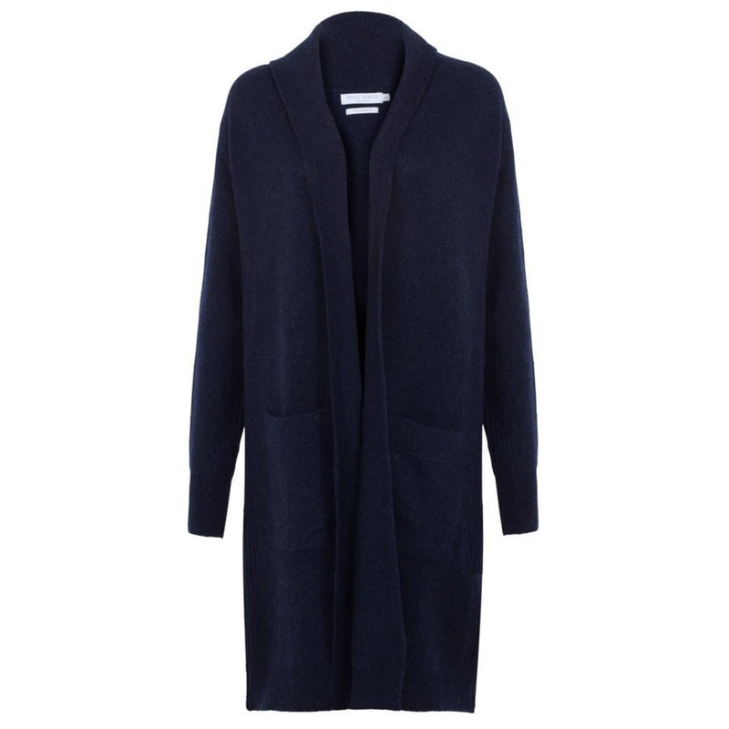 womens long line lambswool cardigan coat
