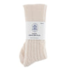 cream alpaca bed and lounge socks for men and women