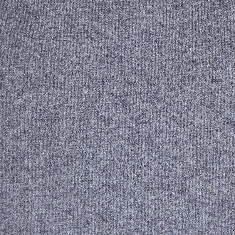 mens grey v neck lambswool jumper close up