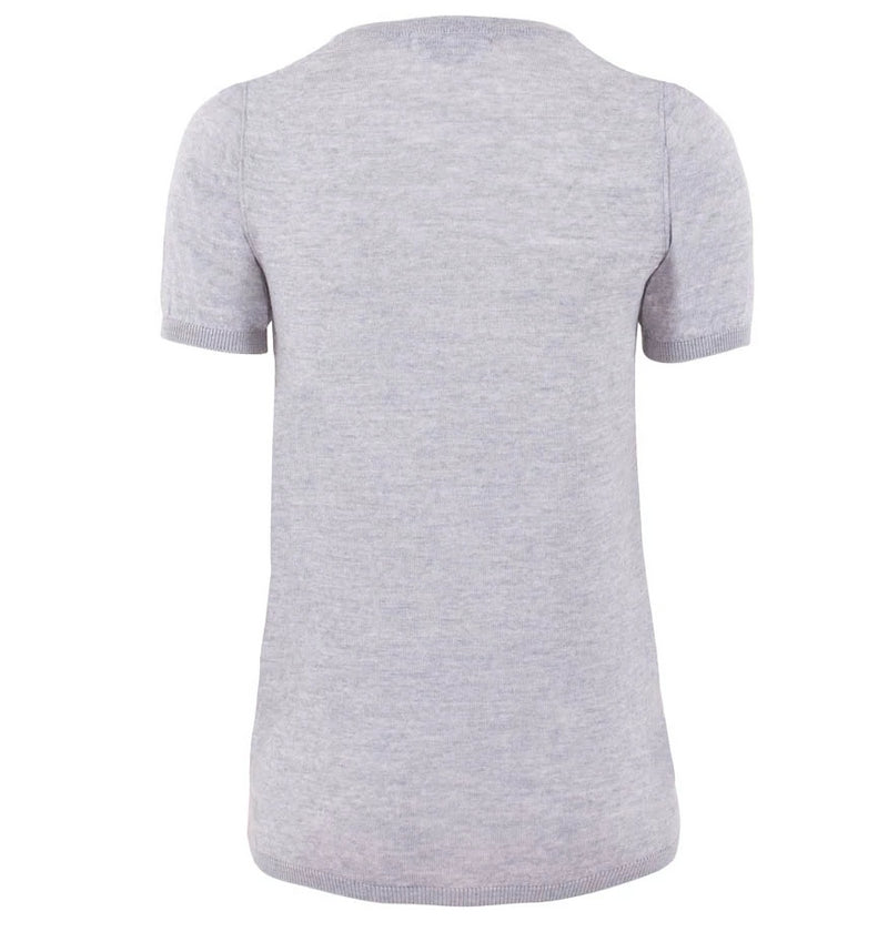 womens grey merino wool t shirt back