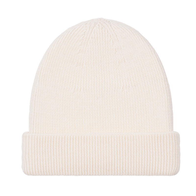 off white fisherman fine merino beanie hat