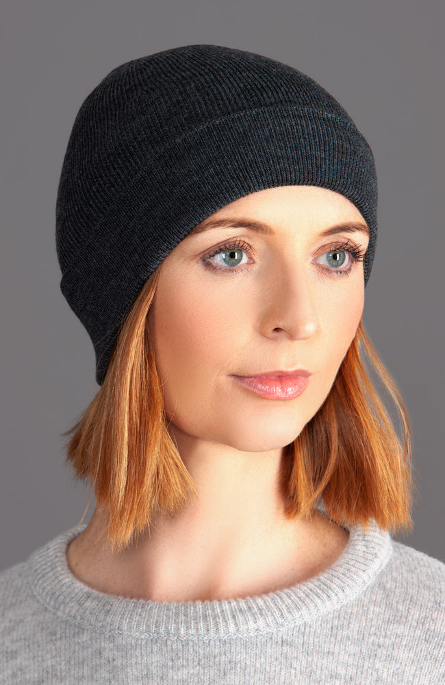 Heavyweight 100% Extra Fine Merino Fisherman Beanie