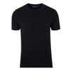 mens black thin luxury supima cotton t shirt