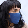 denim luxury cotton face mask