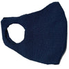 Navy Sustainable Luxury Cotton Face mask and covering for covid and coronavirus protection