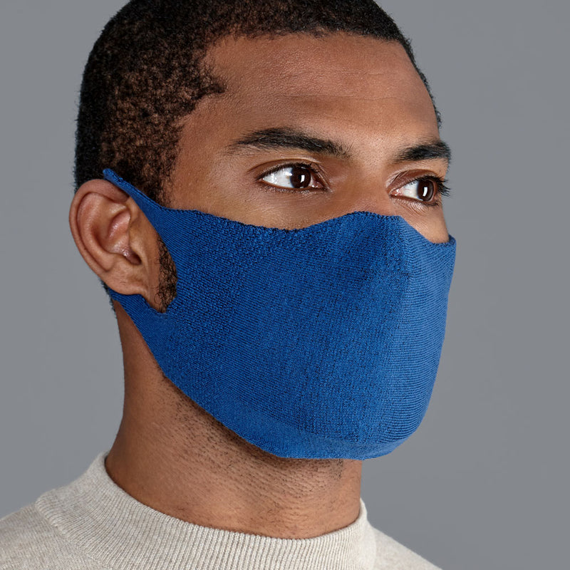 denim comfortable cotton face mask