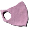 Baby Pink Sustainable Luxury Cotton Face mask and covering for covid and coronavirus protection
