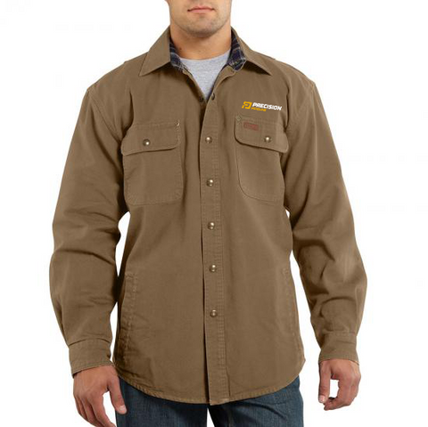 Carhartt - Weathered Canvas Long Sleeve Shirt Jacket