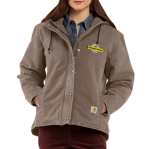 Carhartt - Throwback Ladies Sandstone Berkley Jacket