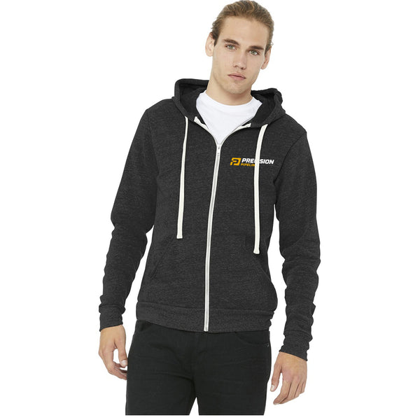 BELLA+CANVAS - Unisex Triblend Sponge Fleece Full-Zip Hoodie