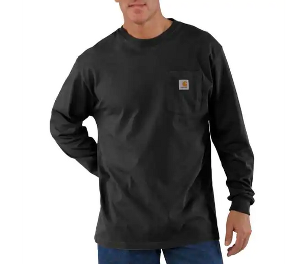 Carhartt - Long Sleeve Workwear Crewneck T-Shirt