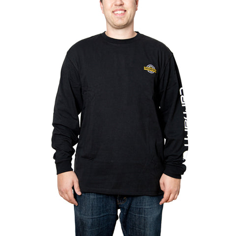 Carhartt - Throwback Men's Signature Logo Long Sleeve T-Shirt - Embroidered