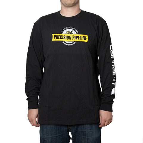 Carhartt - Throwback Men's Signature Logo Long Sleeve T-Shirt
