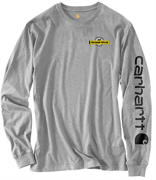 Carhartt - Throwback Signature Logo Long Sleeve T-Shirt - Embroidered
