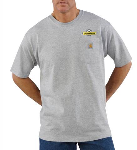 Carhartt - Throwback Loose Fit Heavyweight Short-Sleeve Pocket T-Shirt - Embroidered