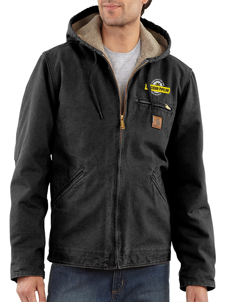 Carhartt - Throwback Sandstone Sierra Jacket/Sherpa Lined