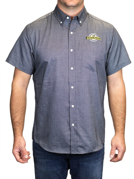 Port Authority - Throwback Short Sleeve SuperPro Oxford Shirt