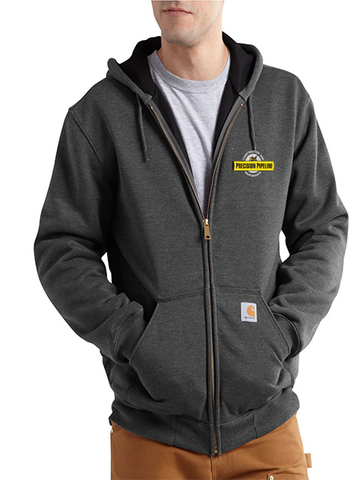 Carhartt - Men's Rutland Thermal-Lined Hooded Zip-Front Sweatshirt