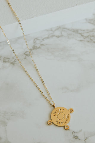 I'll GO TO SLEEP TRUSTING IN YOU NECKLACE