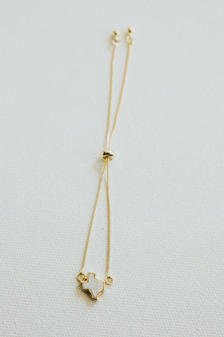 Texas Necklace Gold