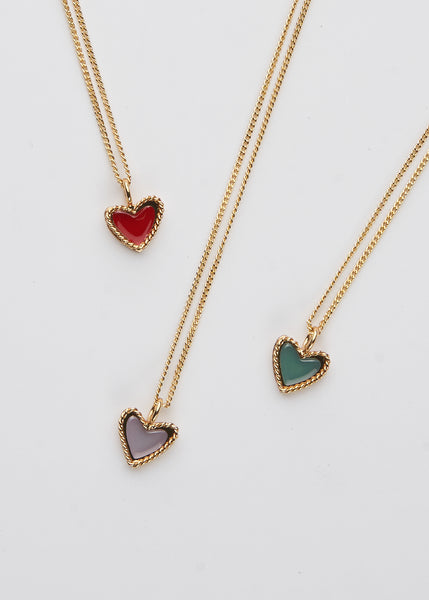 Love Necklace- Red