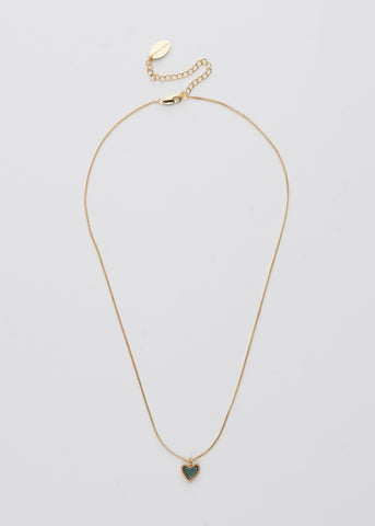 Love Necklace- Mint