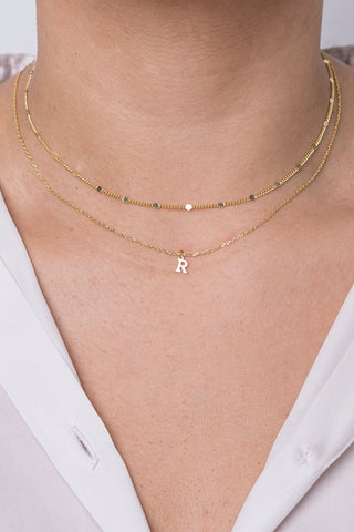 Dainty Custom Necklace - 5 letters