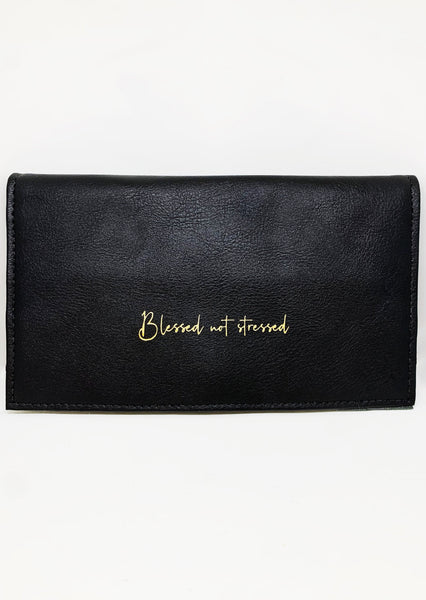 Blessed not Stressed Jewelry Travel Bag