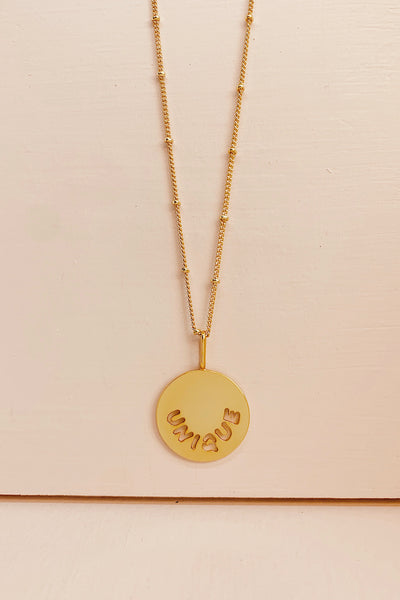 UNIQUE LOVE necklace
